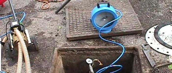 Prove a pressione - Prova a pressione su cisterna gasolio interrata