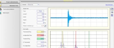 Metodo ultrasonoro - Software di gestione dati dell'apparecchio